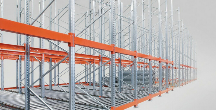 GRAVITY FLOW PALLET RACKING