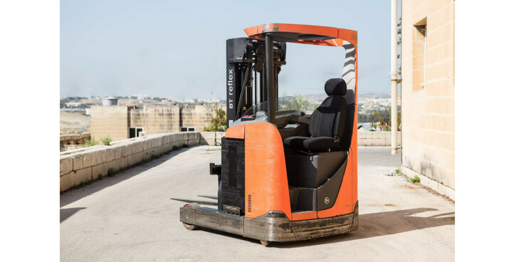 USED COLDSTORE REACH TRUCK RRE160C