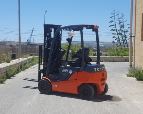 Brand new Battery Forklift 2 Ton 4 Wheel 8FBMT20