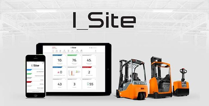 I_Site – Smart trucks from Toyota are factory-fitted with the technology needed to digitally monitor and manage the way they are operated.